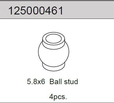 Ballhead 5.8x6 (4) 2WD
