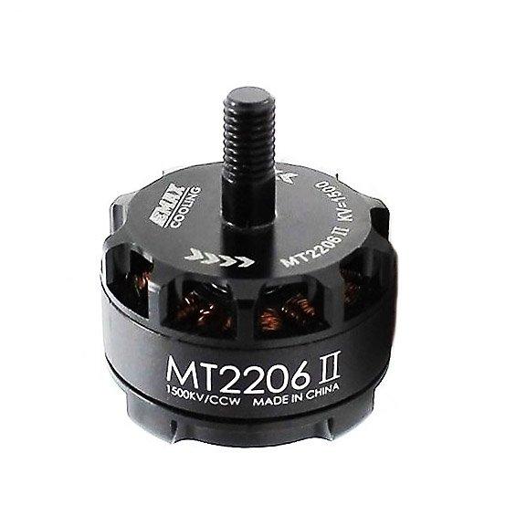 Silnik EMAX MT-2206 II Cooling - CCW - 1900KV - 2-4S/239W - ciąg