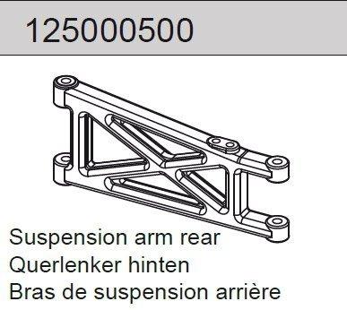 Suspension arm rear Mad Rat