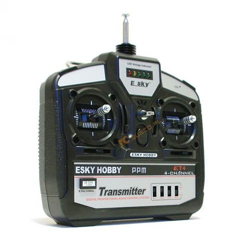 Transmitter 4CH (W/ trainer)