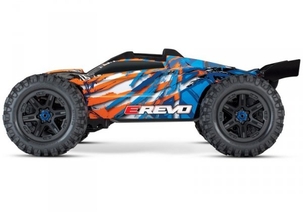TRAXXAS 1/10 E-Revo 2 VXL 4WD - bezszczotkowy wersja pomarańczowa