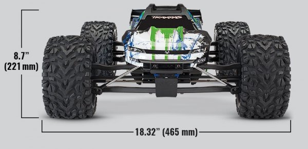 1/10 E-Revo 2 VXL 4WD - wersja zielona