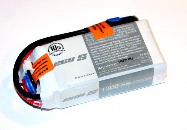 Akumulator LIPO Dualsky 1300 mAh 25C/4C 11.1V