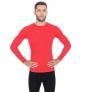 BRUBECK koszulka ACTIVE WOOL męska czerwony