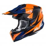 HJC KASK OFF-ROAD  I50 TONA BLACK/ORANGE