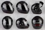 Kask motocyklowy LAZER MONACO EVO czarny/carbon
