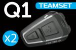 Interkom na motor Cardo Scala Rider Q1 TeamSet