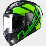 KASK LS2 FF323 ARROW R ION BLACK-FLUO-GREEN