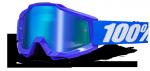 GOGLE 100% ACCURI REFLEX BLUE +SZYBKA