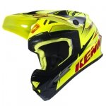 KENNY KASK OFF-ROAD TRACK NEON YELLOW