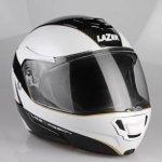 Kask motocyklowy LAZER MONACO EVO czar/carbon/biały/met/złoty