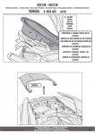 KAPPA KR2138 STELAŻ KUFRA CENTRALNEGO YAMAHA X-MAX 400