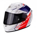 KASK SCORPION EXO-710 AIR LINE WHITE-RED-BLUE
