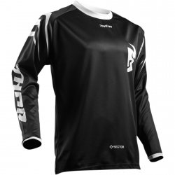 THOR BLUZA YOUTH SECTOR ZONES OFFROAD BLACK =$