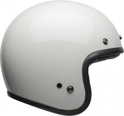 BELL KASK OTWARTY CUSTOM 500 DLX VINT SOLID WHITE