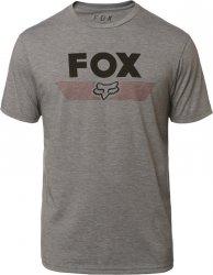FOX T-SHIRT AVIATOR TECH HEATHER GRAPHITE