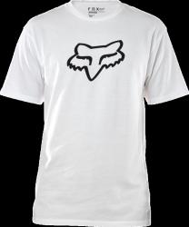 FOX T-SHIRT LEGACY FOX HEAD OPTIC WHITE