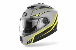 AIROH KASK SYSTEMOWY  PHANTOM S BEAT YELLOW MATT