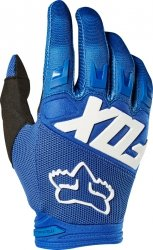 RĘKAWICE OFF-ROAD FOX JUNIOR DIRTPAW RACE BLUE
