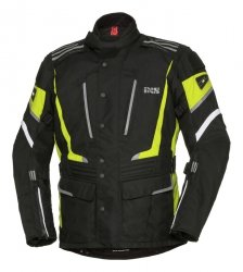 IXS KURTKA TEKSTYLNA  POWELLS-ST  BLACK/YELLOW