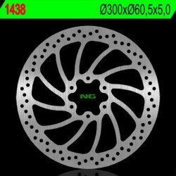 NG1438 TARCZA HAMULCOWA KTM DUKE 125/200/390 '14-'15, RC 125/200/390 '14-'15 (300X60,5X4) (6X8,5MM)