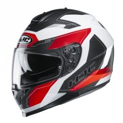 HJC KASK INTEGRALNY C70 CANEX WHITE/BLACK/RED
