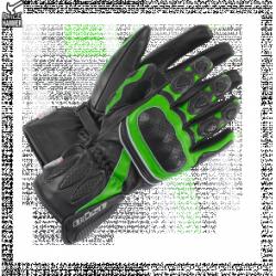 BUSE Rękawice motocyklowe  Pit Lane czarno-zielone