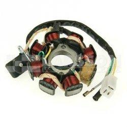 Stojan alternatora QMB 139 3-pinowa 1294020 Ering Tanco 50, Aiyumo Capri 50, BT49QT, YY50QT, Buffalo/Quelle RS