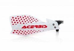 Acerbis Handbary X-Ultimate biało - czerwony