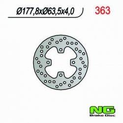 NG363 TARCZA HAMULCOWA POLARIS PREDATOR 500 (178x63x4)
