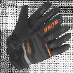 BUSE Rękawice motocyklowe Fresh czarno-pomarańcz.