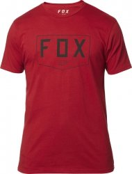 FOX T-SHIRT  SHIELD PREMIUM CARDINAL