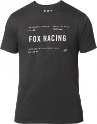 FOX T-SHIRT  STANDARD ISSUE PREMIUM BLACK VINTAGE