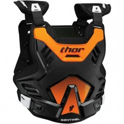 THOR BUZER SENTINEL GP S16 BLACK/FLO ORANGE =$