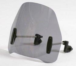 Uniwersalna szyba do motocykli bez owiewek MRA bezbarwna (typ RO)