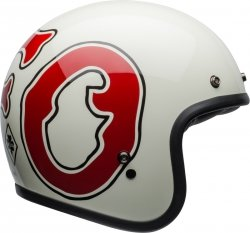 BELL KASK OTWARTY CUSTOM 500 DLX RSD WFO WHI/RED