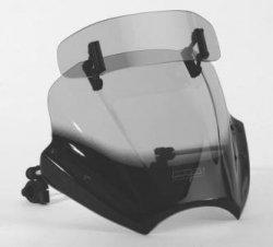 Uniwersalna szyba do motocykli bez owiewek MRA przyciemniana (typ VTNB)