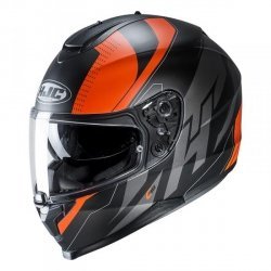 HJC C70 KASK integralny BOLTAS BLACK/ORANGE