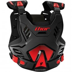 THOR BUZER SENTINEL GP S16 BLACK/RED =$