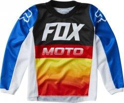 FOX BLUZA OFF-ROAD JUNIOR 180 FYCE BLUE/RED