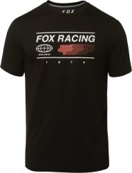 FOX T-SHIRT GLOBAL TECH BLACK