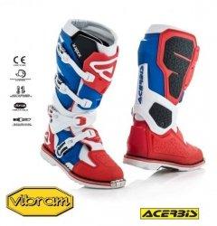 Acerbis Buty X-Rock czerwono - niebieski
