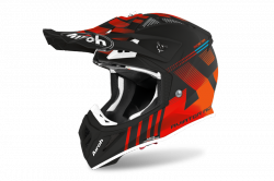 AIROH KASK OFF-ROAD AVIATOR ACE NEMESI ORANGE MATT