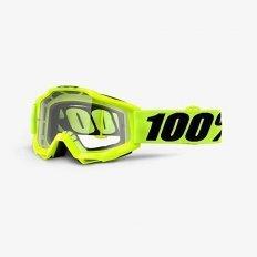 100 PROCENT GOGLE ACCURI ENDURO MTB FLUO YELLOW