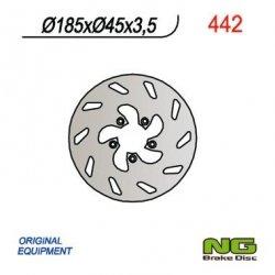 NG442 TARCZA HAMULCOWA BETA 50 (185x45x3,5)