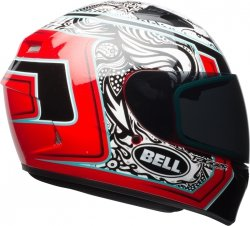 BELL KASK INTEGRALNY QUALIFIER TAGGER WHI/BLK/RED