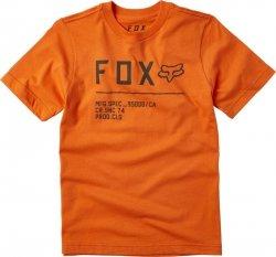 FOX T-SHIRT JUNIOR NON STOP ORANGE FLAME