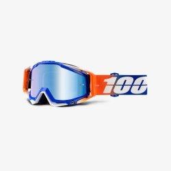 100 PROCENT RACECRAFT ROXBURRY NIEBIE/POMAR. GOGLE