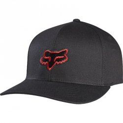 CZAPKA Z DASZKIEM FOX JUNIOR LEGACY BLACK/RED
