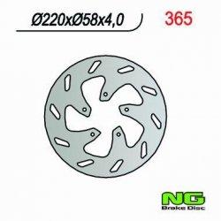NG365 TARCZA HAMULCOWA BETA / GILERA / PIAGGIO (220X58X4)